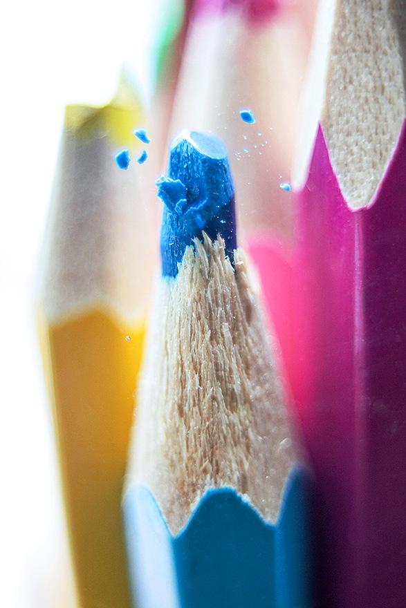colour pencils by grezelle