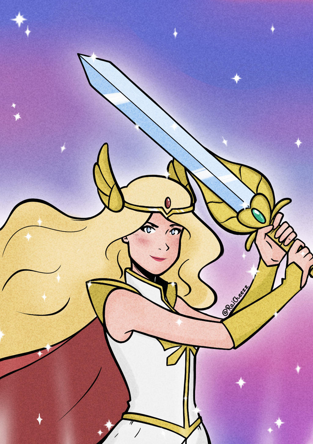 Fanart She Ra And The Princesses Of Power By Raicheezz On Deviantart