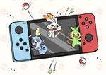 Pokemon Sword/Shield - Galar Region Starters