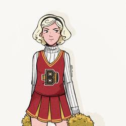 Cheerleader Sabrina