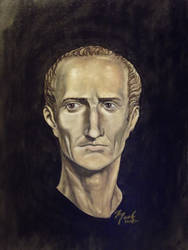 Portrait of Julius Caesar by amadscientist