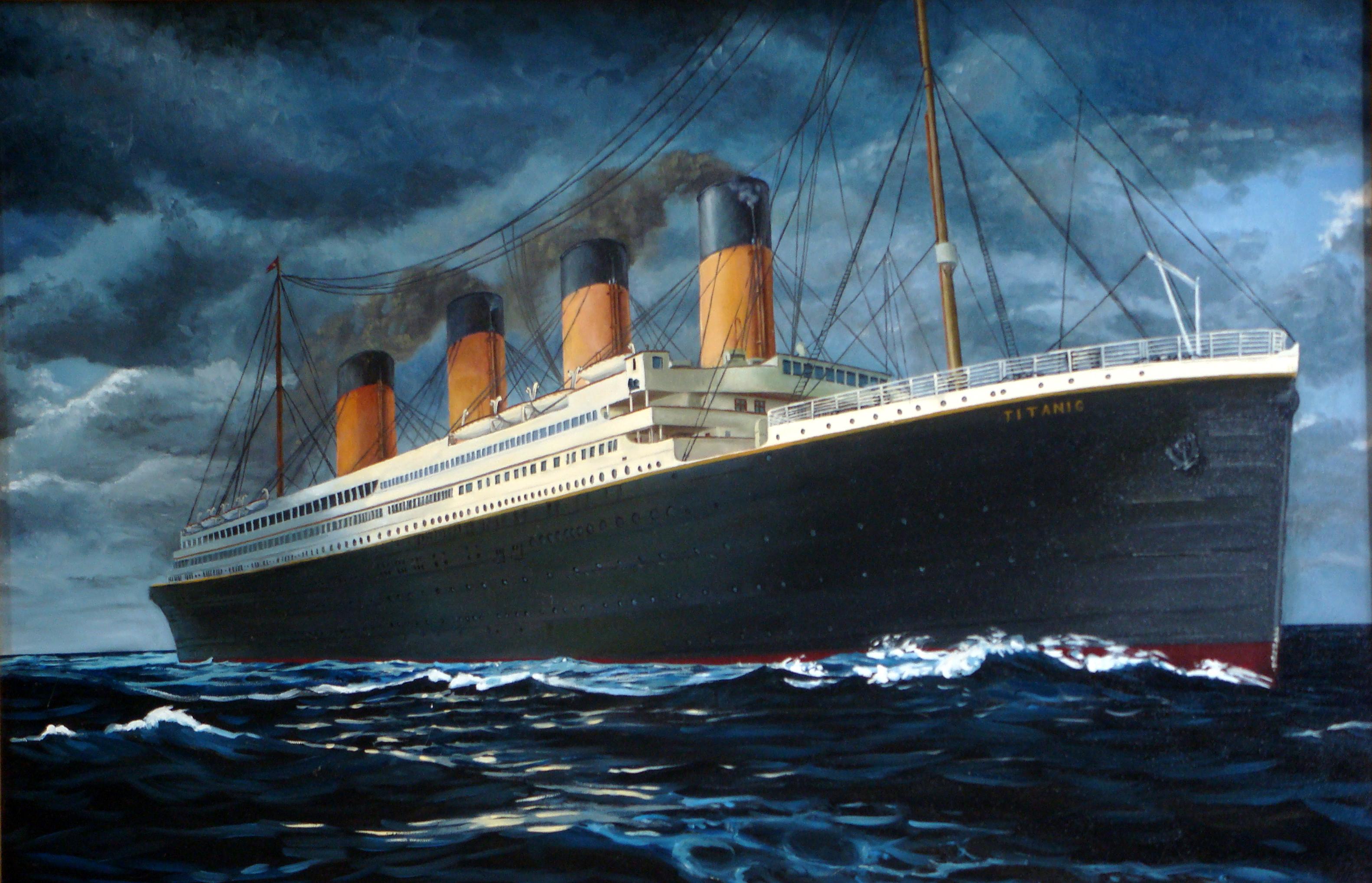 Titanic-Marschal Copy Study by amadscientist