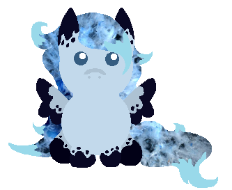 Blue Agate Plooshie by WaterLillyHearts