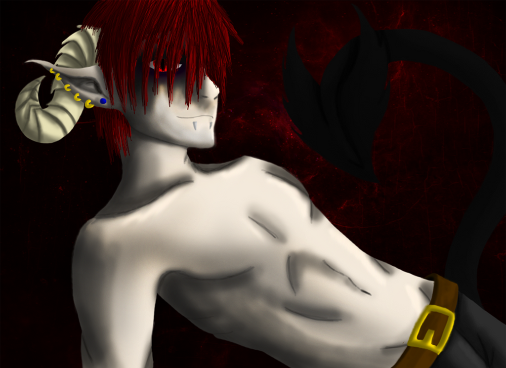 Satan human form by irajiack on DeviantArt