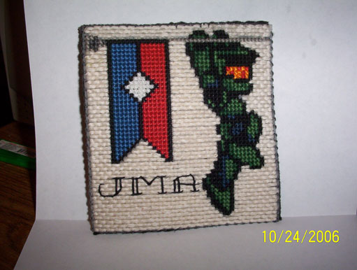 PC Master Chief with Flag