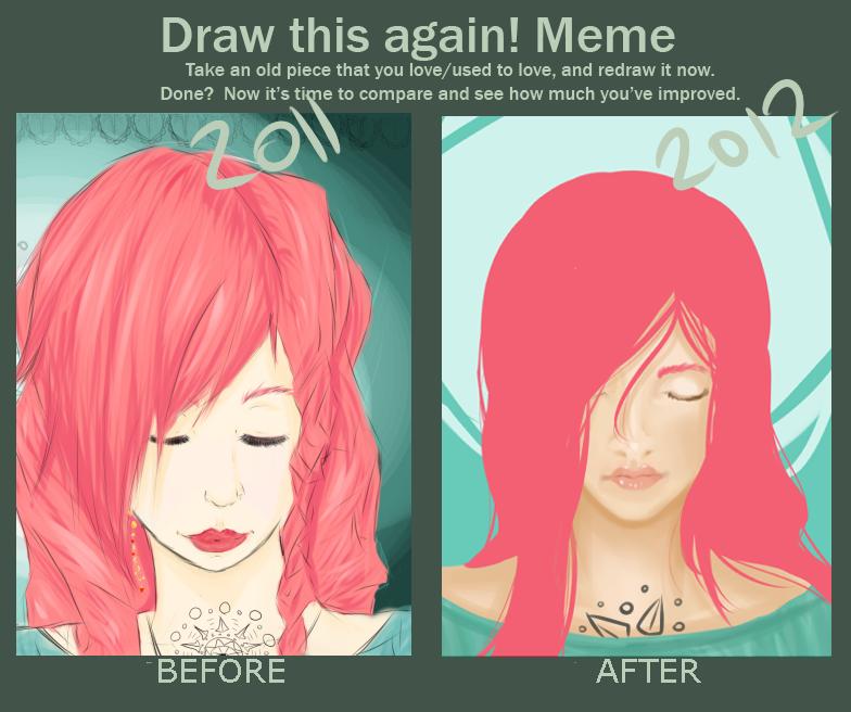 {draw this again} by peachshark