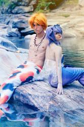 Mermaid and Merman by NaniKurai