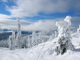 Snow stock 001 by SnaffledChestnut