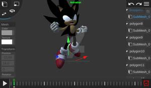 Dark super sonic (Super Smash Bros Brawl)