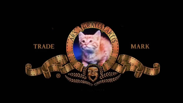 Mimsie on the MGM logo