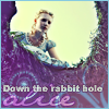 Down The Rabbit Hole Alice by ThatDeadGirl