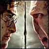 Harry Potter VS Voldemort Icon by ThatDeadGirl