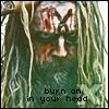 Burn An X In Your Head - Rob Zombie by ThatDeadGirl