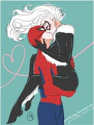 Valentine's Spider X Cat