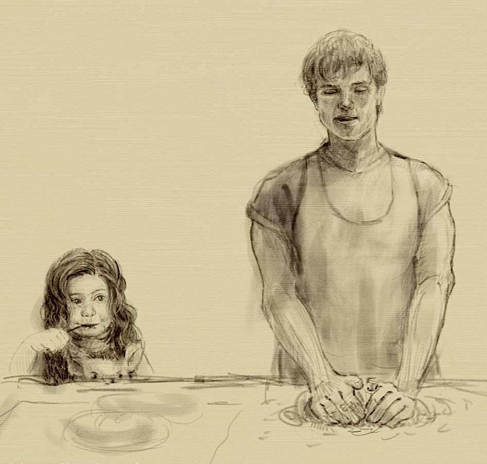Hunger Games Fan Art Katniss And Peeta the hunger games by la...