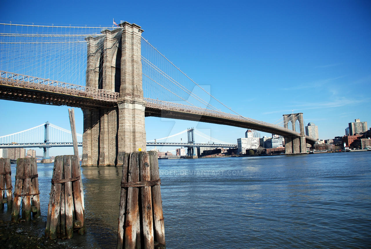 Brooklyn bridge daytime by pptranger on deviantart for Art and craft store in brooklyn ny