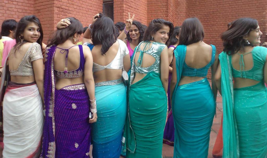 Indian sexy girls in saree