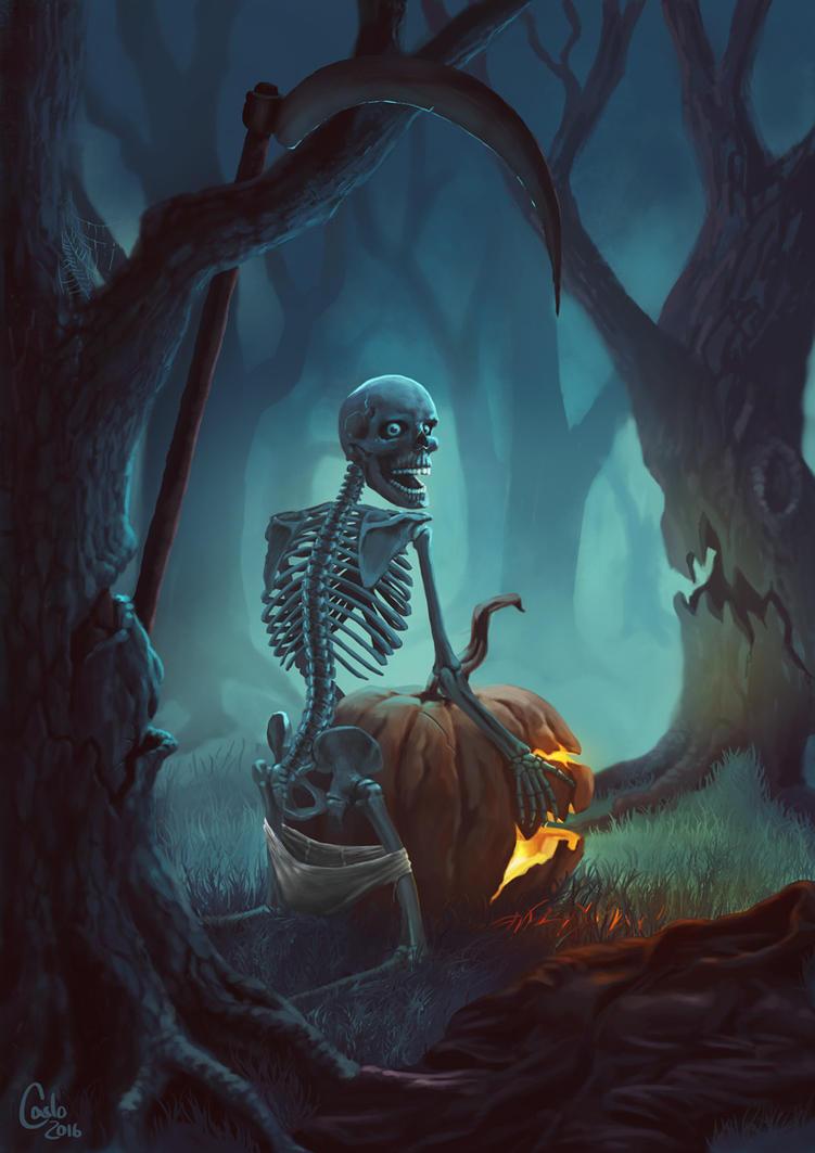 Happy Halloween by Carlo-Schmidt