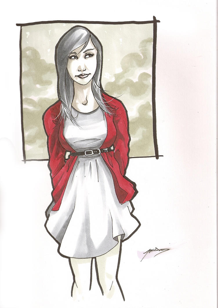 red riding cardigan by steven-donegani