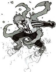 Spider-Man Manga Challenge by steven-donegani