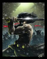 Conan the barbarian by steven-donegani