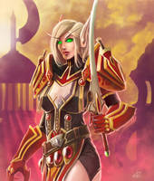 Blood Elf by steven-donegani