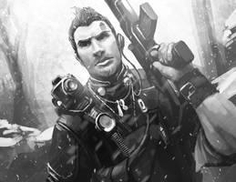 Sketch: Borderlands 2: Axton