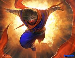 Strider Hiryu by steven-donegani