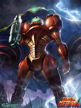 Super Metroid: Samus Aran