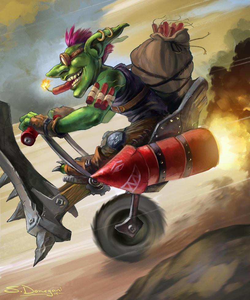 Goblin Bust 'R Boomer by steven-donegani