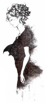 Pen Drawn Woman