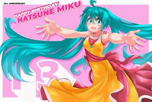 Happy Birthday Hatsune Miku