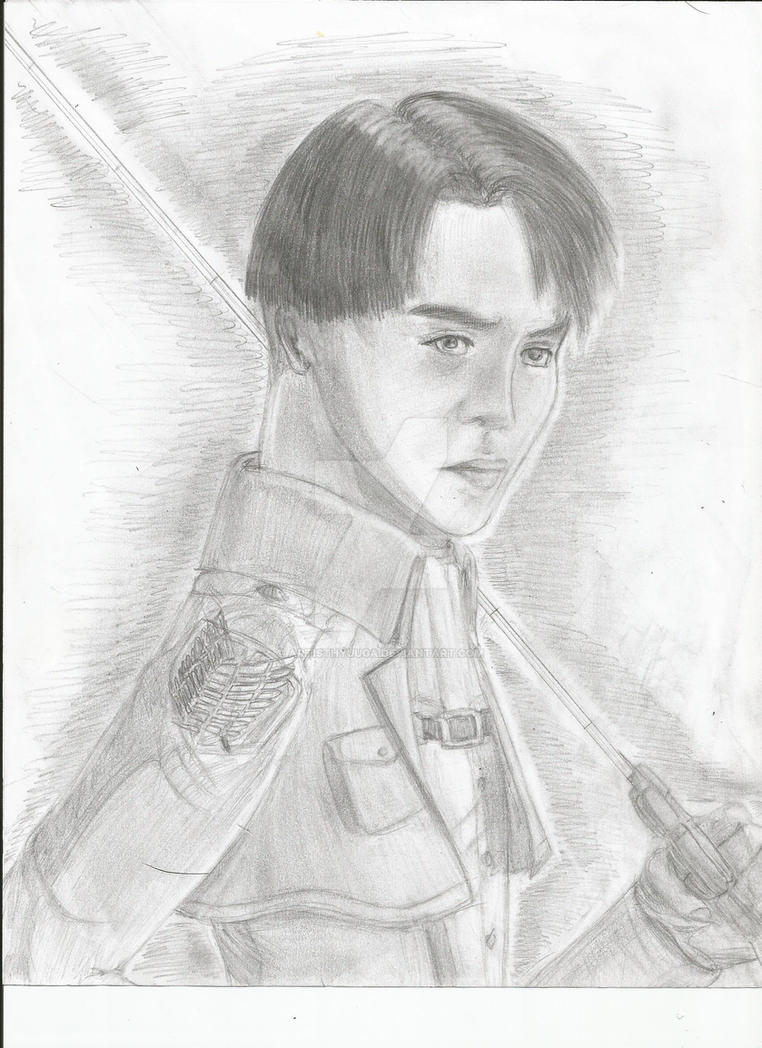 Reality Check: G Dragon As Levi Ackerman by ArtistHyuuga