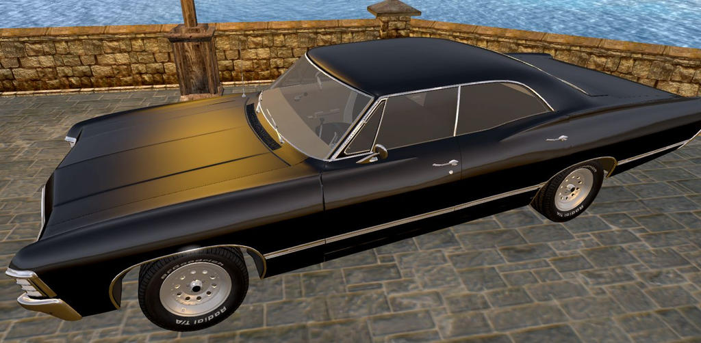 Baby ( supernatural - chevrolet impala 67' ) ... by ROIROUGE