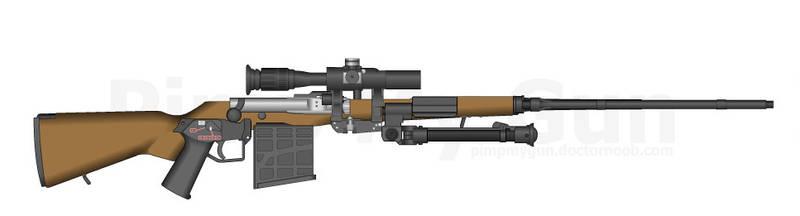 Bloodbourne Rifle by HockeyFanatic154