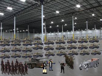 Tiger Tank Factory by HockeyFanatic154