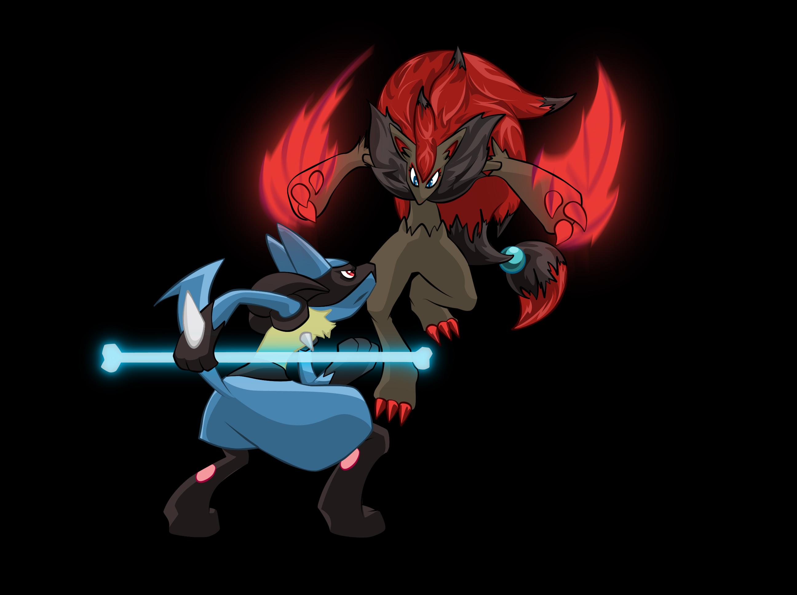 Lucario Vs Zoroark Vs Mewtwo | www.imgkid.com - The Image ...