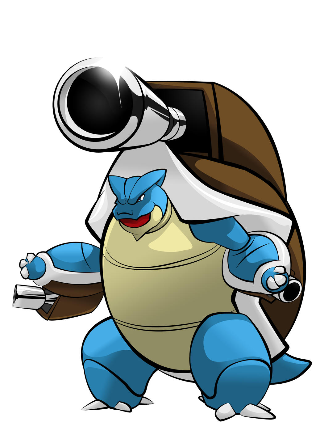 Mega blastoise by exteam001 on deviantart - Pokemon tortank mega evolution ...