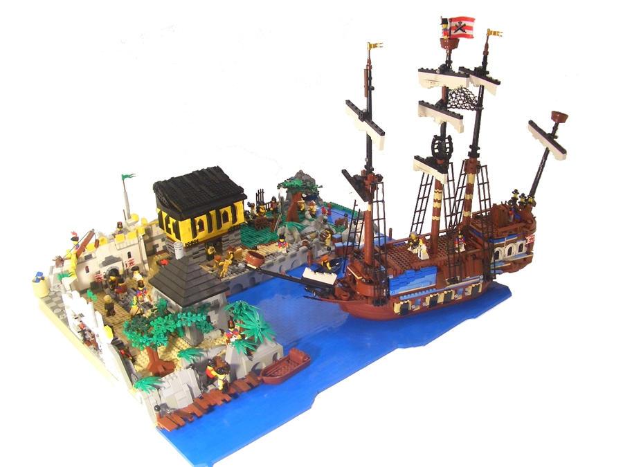 Fort oswald by newright on deviantart - Ile pirate lego ...