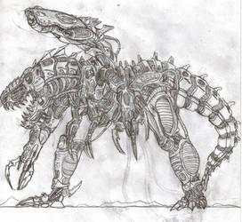 Mecha Rex: Machine Of War by TITANOSAUR
