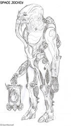 The Space Jockey by TITANOSAUR