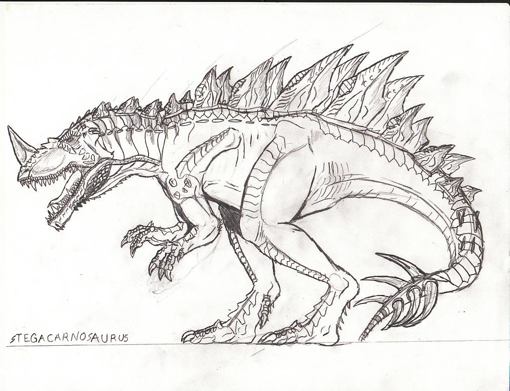 mad spinosaurus coloring pages - photo#31