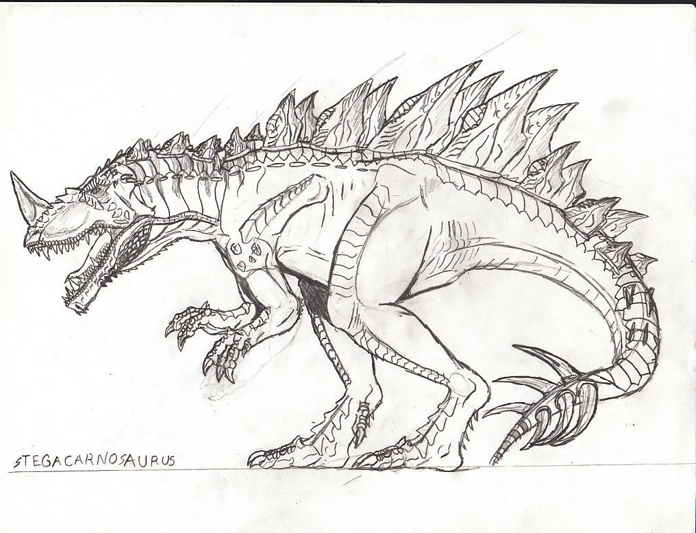 Stegacarnosaurus By TITANOSAUR On DeviantArt