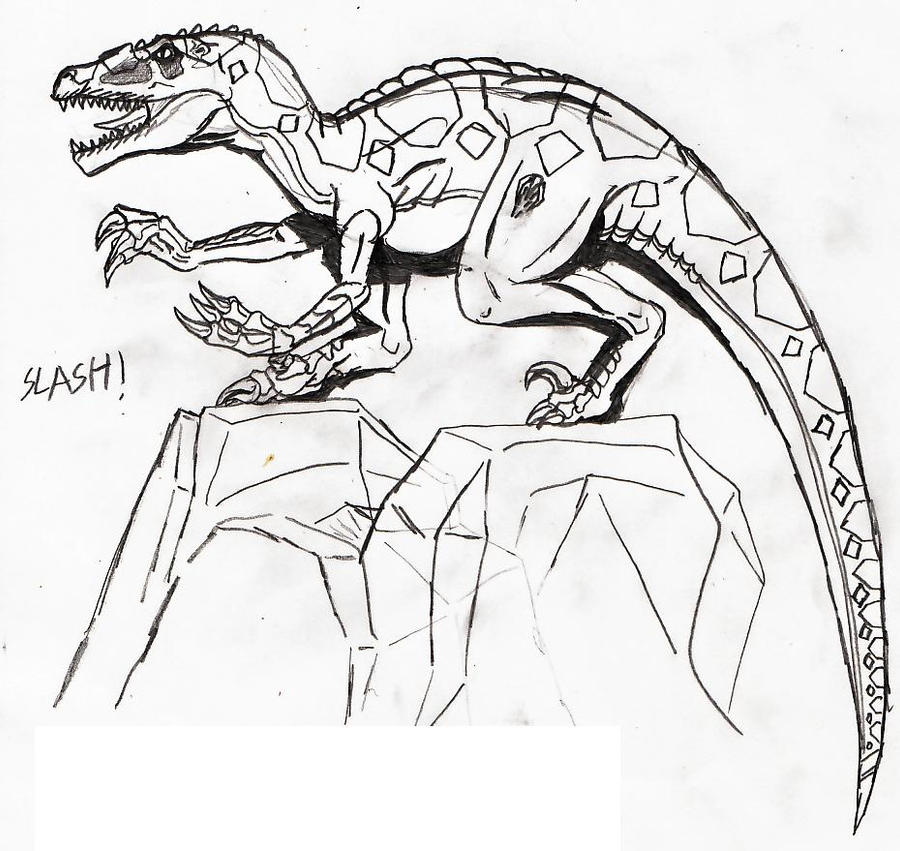 raptor foot soldier slash by titanosaur on deviantart. Black Bedroom Furniture Sets. Home Design Ideas