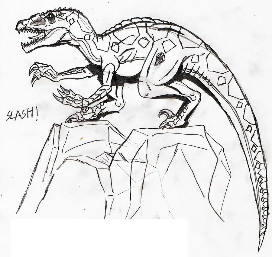 Raptor Foot Soldier Slash by TITANOSAUR