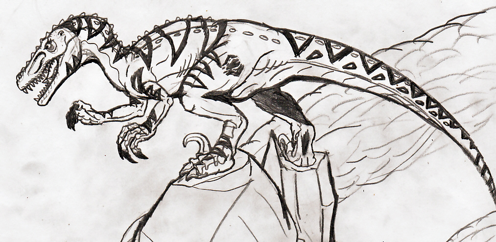 velociraptor coloring pages - raptor foot soldier scyth by titanosaur on deviantart