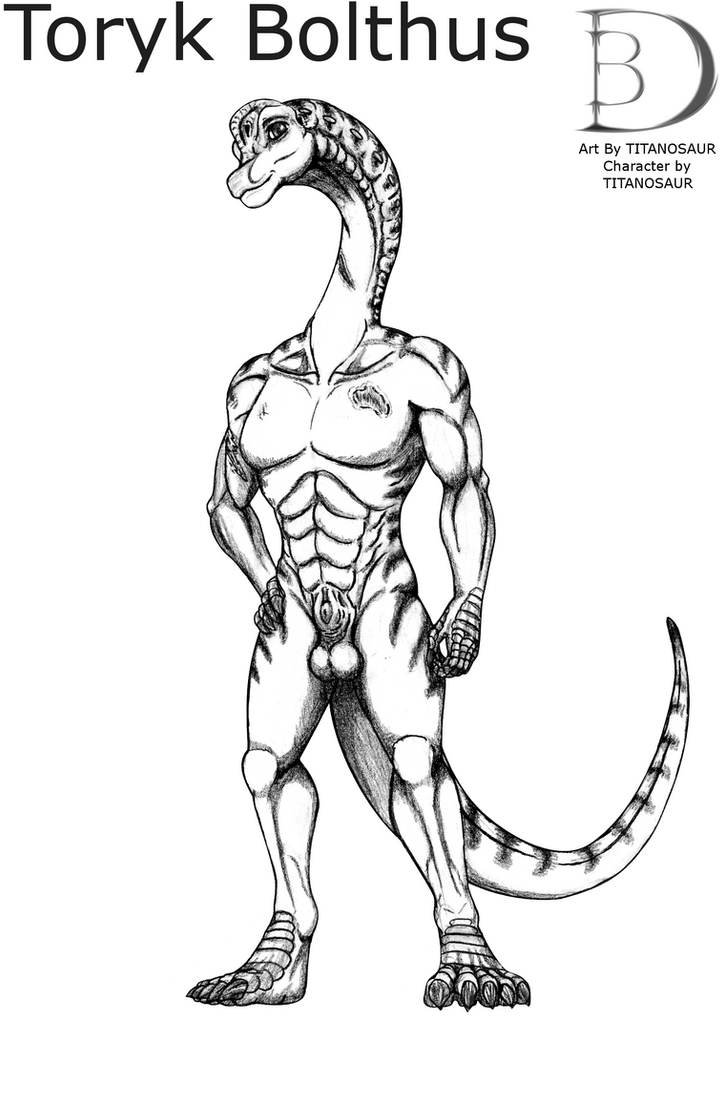 Toryk the Brachiosaurus by TITANOSAUR