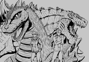Godzilla Jr and Zilla Jr.