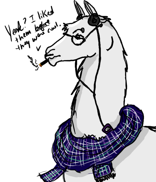 Hipster Llama Approves This Me By Hekomi