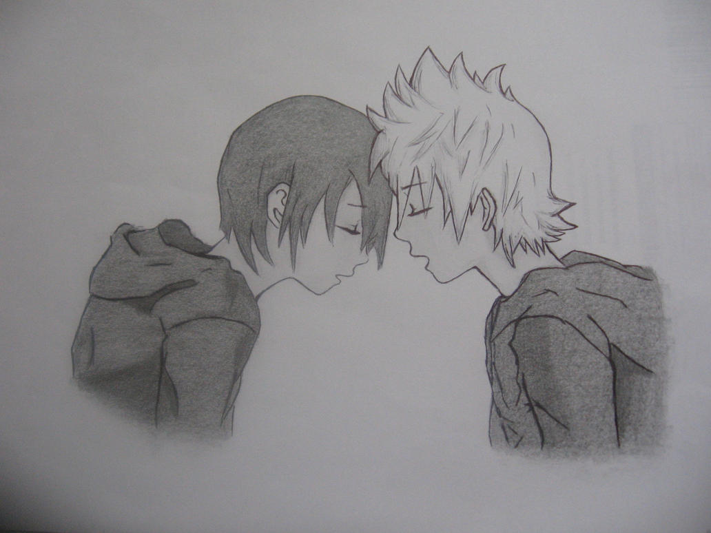 Kingdom Hearts Lineart : Xion and roxas kingdom hearts. by micail7 on deviantart